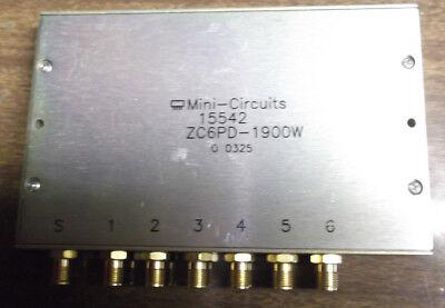 Mini Circuits Zc6pd-1900w Power Splitter Combiner 6-way 2.0 Ghz Rf Sma