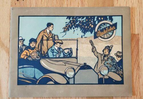 1916 Studebaker Sales Brochure, Series 17
