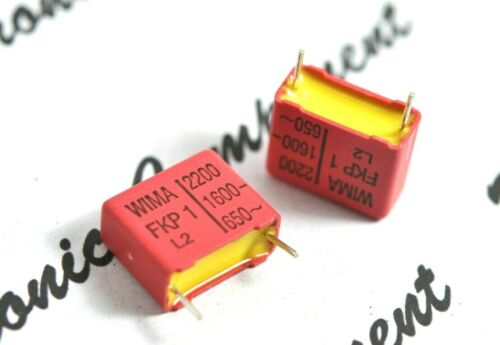 4pcs-Roederstein 0.01µF 10nF 400V 5/% p:10mm Capacitor MKC1862 0.01uF ERO