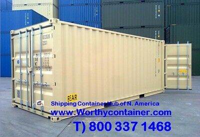 Double Doordd - 20 New One Trip Shipping Container In Miami Fl