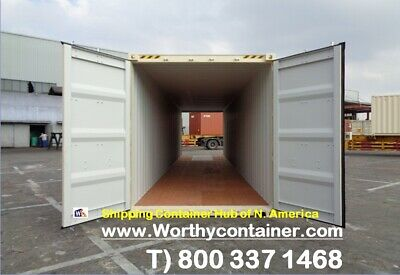 Double Doordd - 40 Hc New One Trip Shipping Container In Chicago Il