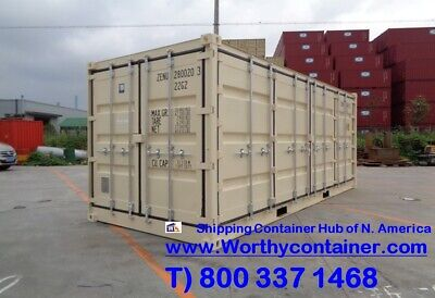 Open Side Os - 20 New One Trip Shipping Container In Denver. Co
