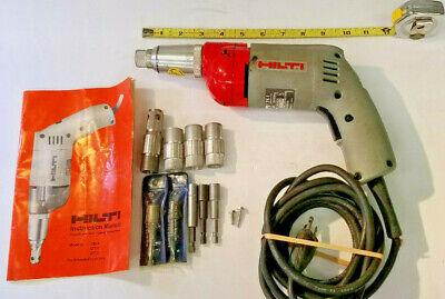 Hilti Tk-1 Screw Gun 115vac 4.5 Amp 14 Fastener Drywall Self-tapping Usa