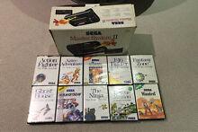 Boxed Sega Master System 2 & 10 Games Cranbourne West Casey Area Preview