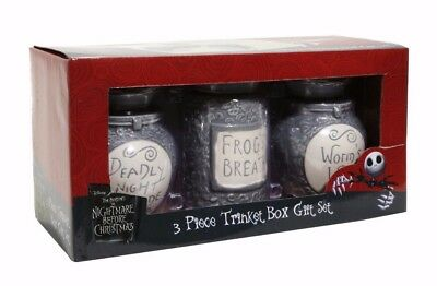 The Nightmare Before Christmas Potion Jar Trinket Set of 3 - SOLD OUT EVERYWHERE