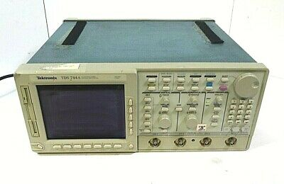 Tektronix Tds 744a 500mhz 2gss 4 Channel Color Digitizing Oscilloscope