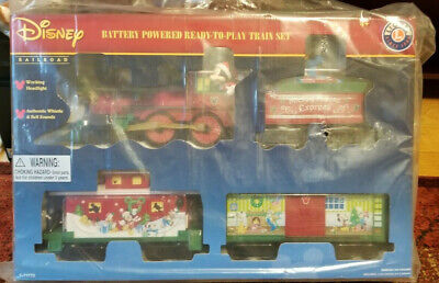 NEW Lionel Mickey Mouse Express Disney Ready to Play Christmas Train Set 7-11773