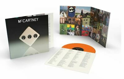 Paul McCartney III 3 Three Exclusive Limited Edition Orange Color Vinyl LP /3000