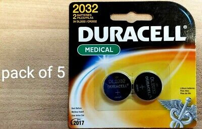 Long-life Lithium Button Cell Batteries, 2 Count Pack (CASE of 5) EXP 03/2017 - Life Lithium Button Cell Batteries