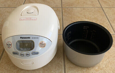 Panasonic Electronic 5.5 Cup Rice Cooker/Warmer SR-MM10NS - FREE SHIPPING!!!