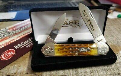 Case XX 62131 Limited Edition 35 Jigged Honey Comb Bone Canoe Knife 1 of 125