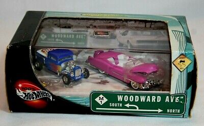 2002 100% Hot Wheels 2-Car Set 1/64 Woodward Ave. For The Adult Collector