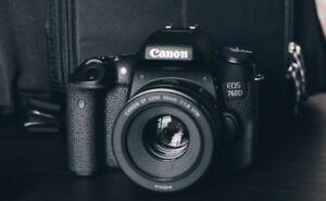Canon t6s 760D 600$