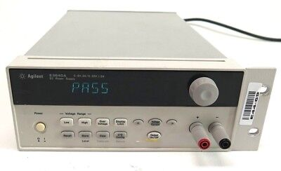 Hp Agilent Keysight E3640a 0e3 Programmable Dc Power Supply 0-8v 3a0-20v 1.5a