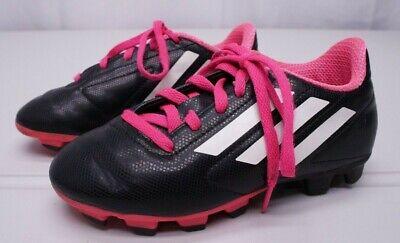 49c8c86f884 Adidas Girls 13K Toddler TRX FG Hard Ground Black Soccer Cleats