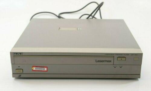 Vintage 1990 Sony Lasermax LDP-1450 Laser Disc Player Laservision Videodisc