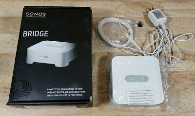 Sonos BRIDGE Wireless HiFi System - White sw v4.0 New OPEN BOX