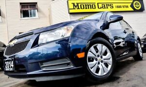 2014 Chevrolet Cruze 1LT/LT! LOW KMS+Cruise! ONLY $113/bi-weekly