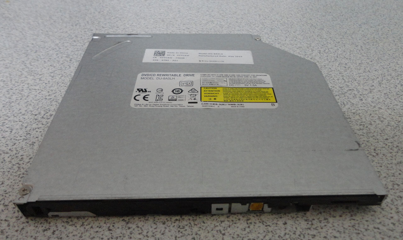"Dell Inspiron 15.6"" 15-3558 DVD-RW Rewritable Burner Drive D"
