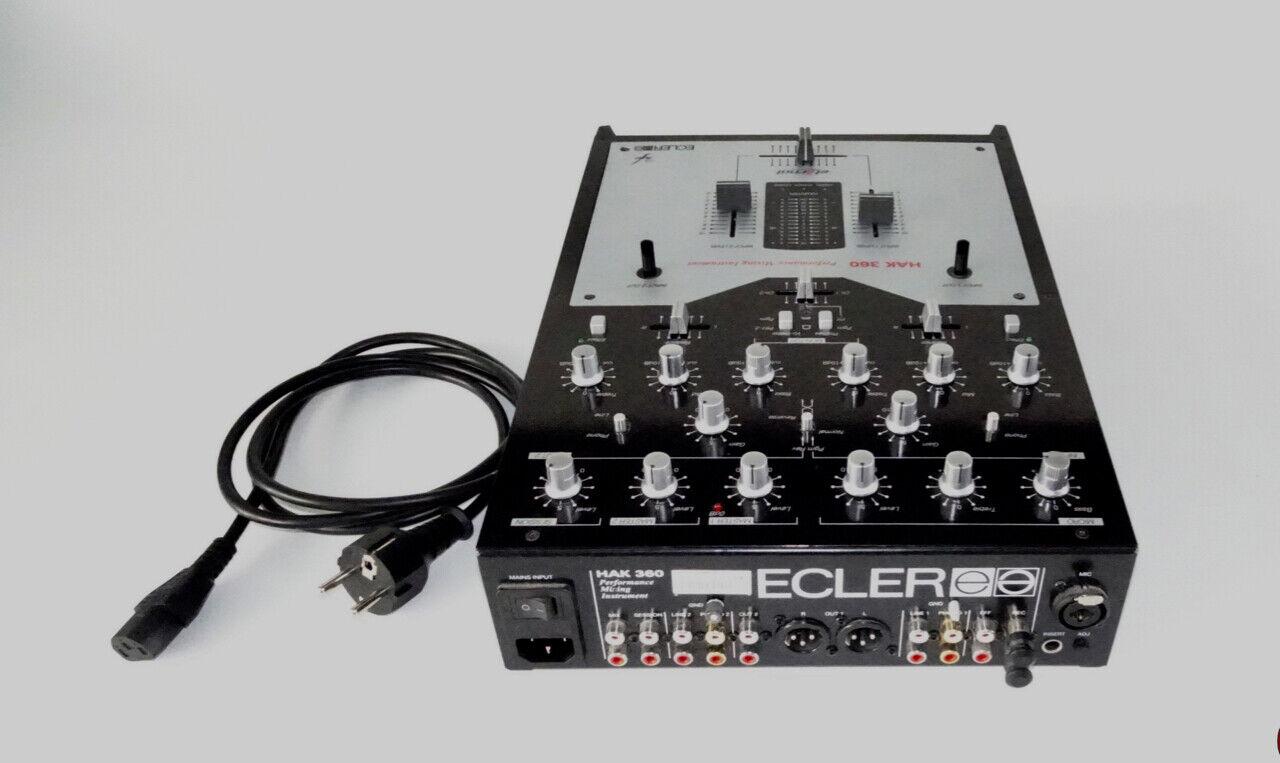 ECLER HAK 360  2 Kannal Professional Dj Mixer