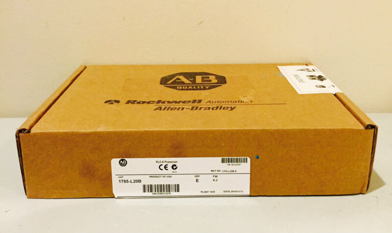 New Sealed 2014 Allen-bradley 1785-l20b /e Plc-5/20 2xdh+/rio Controller 16k