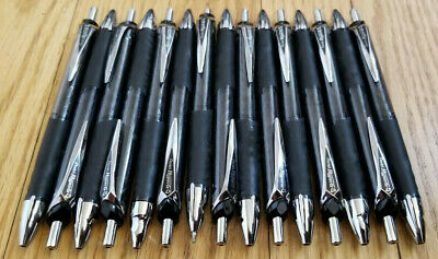 18 Count Lot Pentel Hyperg 07 Gel Pens Black Liquid Ink 0.7mm Kl257-a