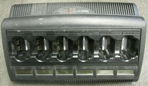 Motorola 6-bay battery charger WPLN4127AR