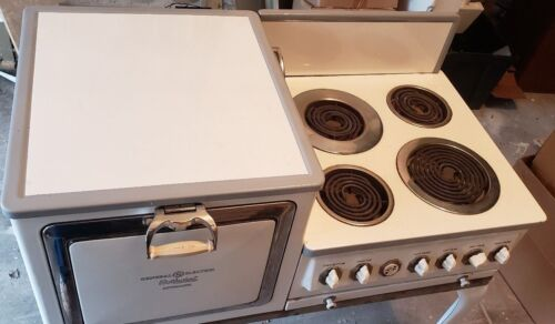 1920s Edison General Electric Porcelain Hotpoint Automatic Electric Stove Oven