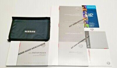 Nissan Pathfinder Owners Manual (2019 NISSAN PATHFINDER NAVIGATION OWNERS MANUAL PLATINUM SV SL S 3.5L 4WD FWD)