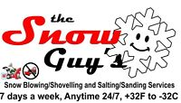 Snow Guys Snow Blowing/Shoveling/Removal/No Plowing