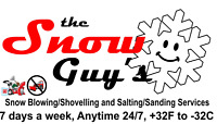 the Snow Guys Snow Blowing / Shoveling / Salting / Sanding