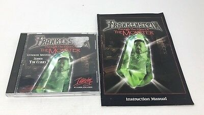 Frankenstein Through the Eyes of the Monster PC (With Manual) - EXCELLENT CON. -