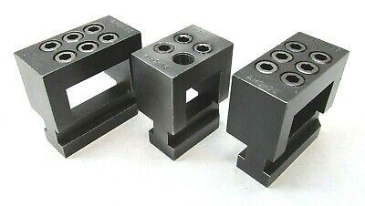 3 Hardinge Second Operation Lathe Multiple Tool Holders - Ahc-34 2 Ahc-35