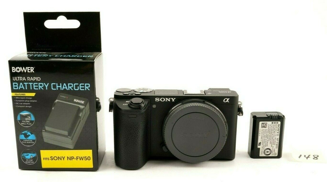 Sony A6500 24.2MP Mirrorless 4K Camera - Low Actuation - $789.99