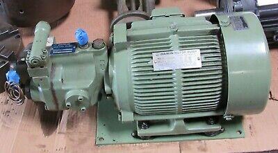Daikin Piston Pump Type V15a1r-80 Motor Pump M15a1-3-40 200v