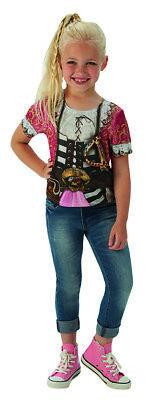 Mädchen Piratenshirt Piratenkostüm für Kinder (Piraten T-shirts Für Mädchen)