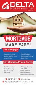 Mortgages or short term loans