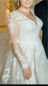 Wedding Dress - immaculate condition - Fits size 8/10
