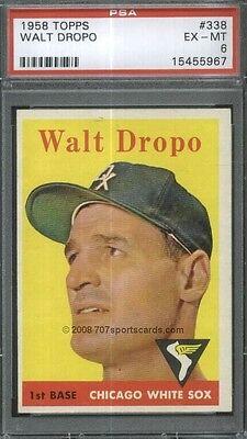 1958 Topps 338 Walt Dropo PSA 6 (5967)