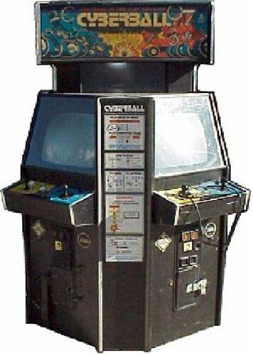 CYBERBALL 2072 TOURNAMENT ARCADE MACHINE by ATARI (Excellent Condition) *RARE*