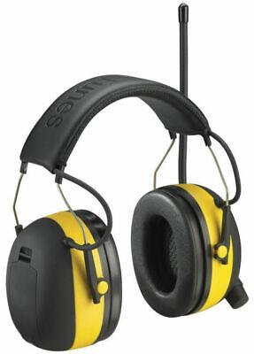 3m Worktunes Hearing Ear Protector Earmuff W Amfm Radio Mp3 Compatible New