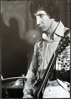 THE WHO POSTER PAGE 1968 PETE TOWNSHEND . NOT CD DVD . 1