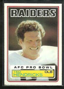 1983 Topps Ted Hendricks #302 Football Card