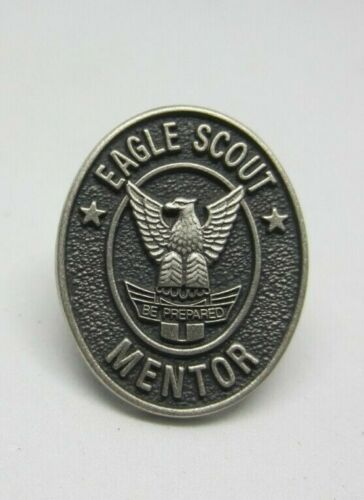 Sterling Eagle Scout Mentor Recognition Pin Oval Boy Scouts Be Prepared