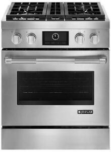 "Jenn-Air JDRP430WP 30"" Pro-Style Dual-Fuel Range with MultiMode Convection"