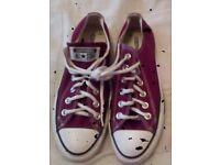 Converse pump shoes
