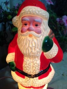 Wanted:    Plastic Light-Up Santa Statue