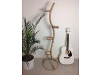 Stunning vintage 1960s/70s planter stand made of bamboo