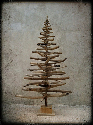 Beach christmas decorating ebay - Arbre de noel en bois flotte ...