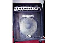 Behringer bx1200 bass amp